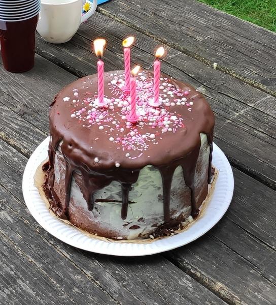 Rolovaný dort Míša