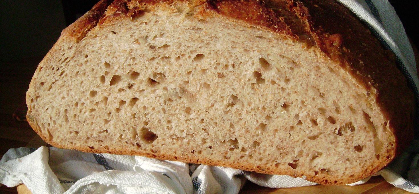 Kváskový chléb jednoduše