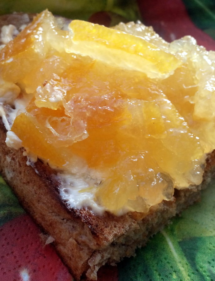 Citronová marmeláda a krém (curd)